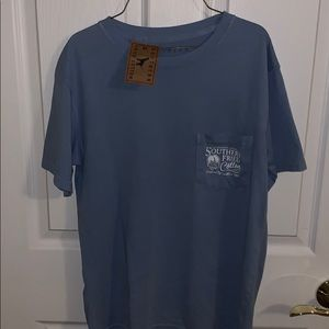 Men's Southern Fried Cotton T Shirt Small